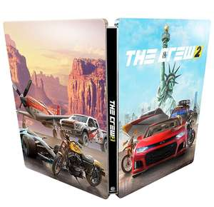The Crew 2 Steelbook - £4.99 Prime / £7.98 non Prime @ Amazon (GAME NOT INCLUDED)