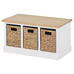 Country Hallway Bench with Baskets £44 Tesco Direct free c and c