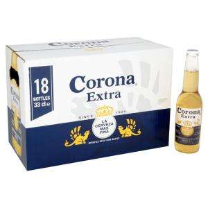 Corona Extra 18 x 330ml bottles £12 @ Asda