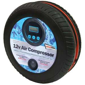 "Streetwize Tyre Shape 250Psi Digital Air Compressor. Use code ""payday"" 17% off. Free DHL delivery. PayPal available. - £14.92 @ CarParts4Less"