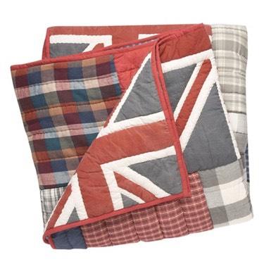 Home Collection - Multi-coloured Union Jack print throw - £50 @ Debenhams
