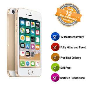 iPhone SE 32GB in Gold or Rose Gold (Network Unlocked) - Certified Manufacturer Refurbished (mine arrived sealed and like brand new) - £159 - The Phone Outlet via eBay (99.8% Positive Feedback)