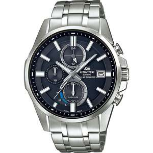 Casio Mens Edifice Watch Solar Sapphire EFB-560SBD-1AVUER £108.99 (RRP £249) @ Watches2U