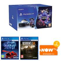 PlayStation VR Starter Pack,Battlezone, Resident Evil 7 Biohazard,NOW TV 2 Months Entertainment Pass £199.99 @ Game