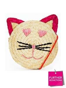 V by Very Girls Straw Circle Cat Bag was £12 now £4.75 C+C via Collect+ @ Very