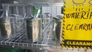 7L galvanised watering can £3.50 @ Homebase - London Wimbledon