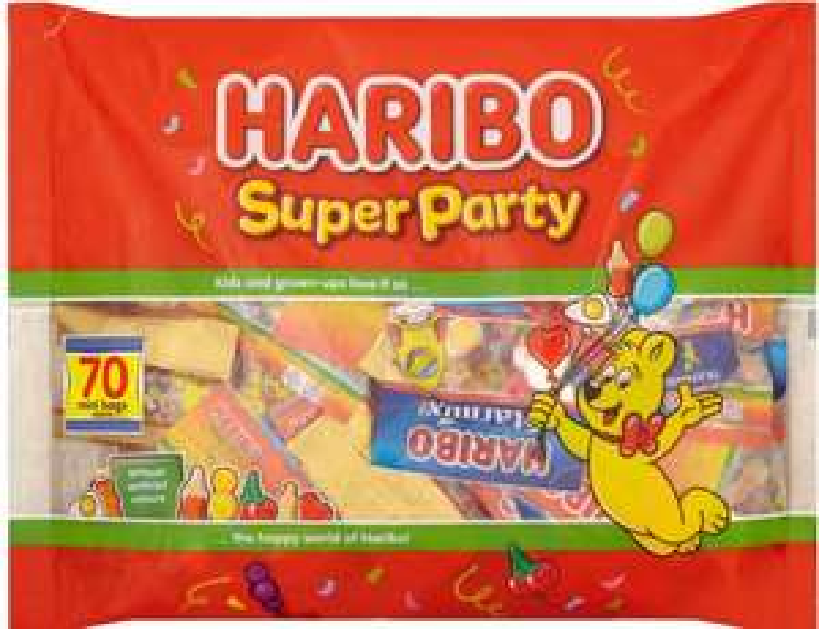 HARIBO Super Party Bag 1120g £5 @ Iceland