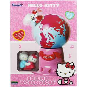Hello Kitty Rolling World Globe £4 @ The Works