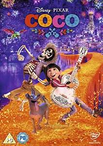 Pixar movie 'Coco' on dvd - £5.99 (with Prime) / £8.98 non prime on Amazon