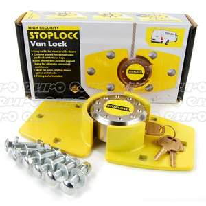 Stoplock high security van lock. Free DHL delivery. Paypal £19.92 @ CarParts4Less