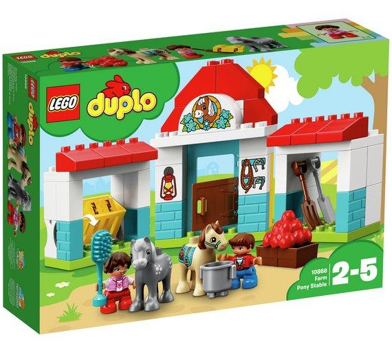 LEGO Duplo Farm Pony Stable Playset  - £12.99 @ Argos (free C&C)