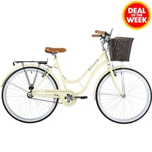Ladies Heritage Barracuda Tucana Cream Bike £104.99 delivered @ JTF