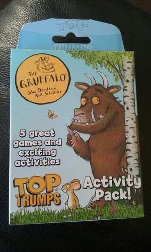 The Gruffalo Top Trumps at Home Bargains - 99p