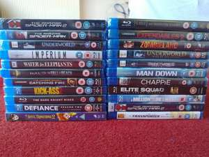 Multiple blu-rays in Poundland (my collection from the last week) - £1 each