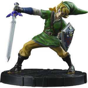 Legend of Zelda: Skyward Sword Link Statue and T-Shirt £24.99 @ Zavvi