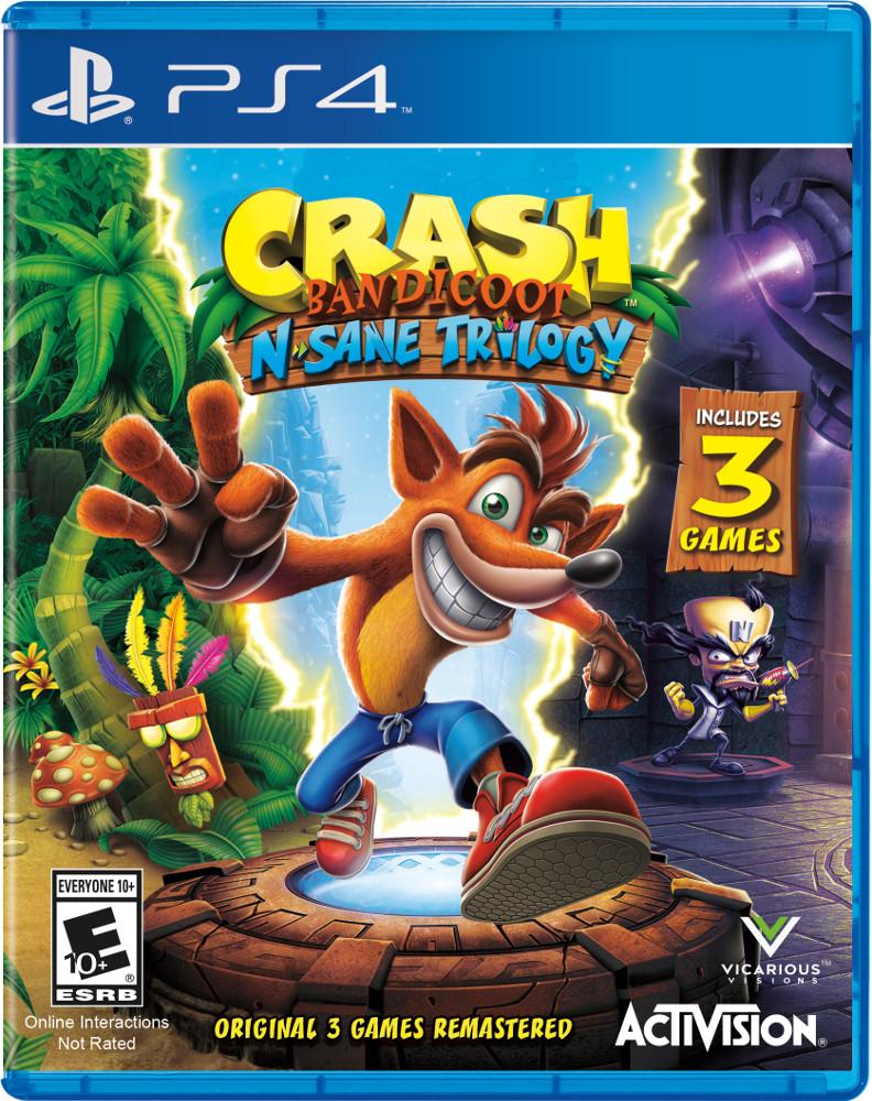 Crash Bandicoot N Sane Trilogy (PS4) - £11 preowned @ Boomerang