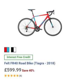 Felt FR40 Road Bike (Tiagra - 2018) £599.99 @ wiggle.co.uk