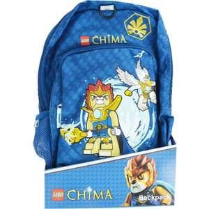 Lego - Legends of Chima Backpack £7.50 free Click and Collect @ The Works