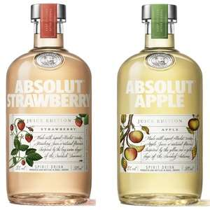 New Absolut strawberry and apple juice limited edition vodka £13 each online and instore @ Asda