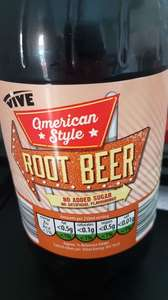 American style root beer at Aldi for lovers of Bundaberg - 37p