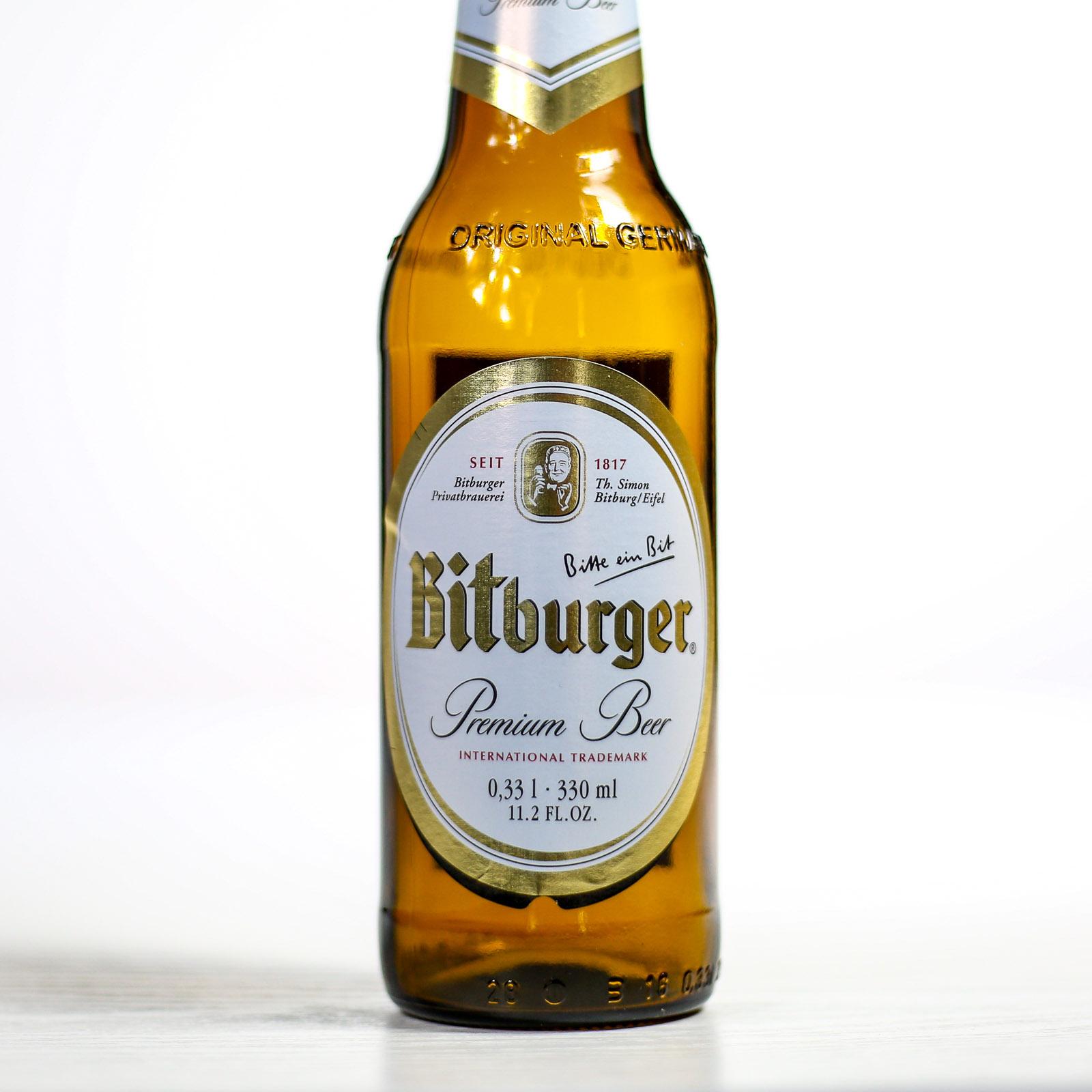 Bitburger German Beer 4x330ml £3.49 at Home Bargains