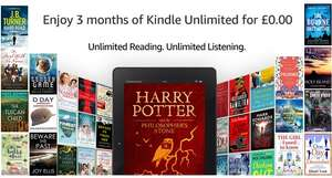 Kindle Unlimited 3 months for free (Amazon Prime customers only)