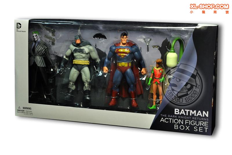 Batman: The Dark Knight Returns - 4 figure set - £19.99 @ B&M