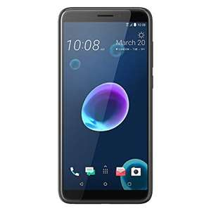 HTC HTC Desire 12 UK SIM Free Smartphone - Cool Black @ Dispatched from and sold by Amazon exclusively for Prime members