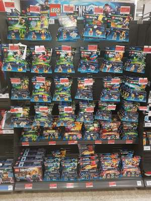 Lego Dimensions from £5 in store at Sainsbury's (Norwich)