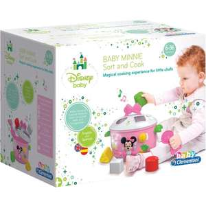 Disney Minnie Mouse Baby Sort and Cook £13.50 free click and collect @ The Works