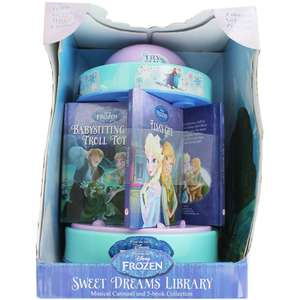 Disney Frozen - Musical Carousel and 5-Book Collection £11.25 C&C at The Works