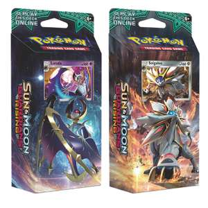 Pokemon Sun and Moon Theme Deck x 2 pks of 60 Cards £8.95 @ Chaos Cards
