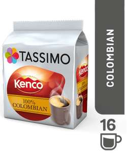 KENCO PURE Colombian - Because I Want To Give Something Back £3.99 @ Tassimo