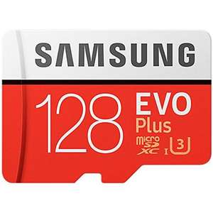 Samsung 128GB Evo Plus Micro SD Card (SDXC) UHS-I U3 + Adapter now £27.99 delivered @ MyMemory