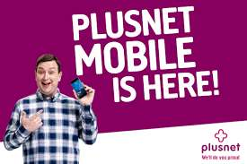4GB Data - 2000 Minutes - 2000 Texts - 30 Days Sim £9 @ Plusnet Mobile