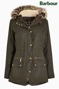 Barbour Beadnell Classic wax jacket - Sage - £65 at Next Clearance