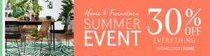 Extra  30% of Homeware including sale with Promo Code @ La Redoute