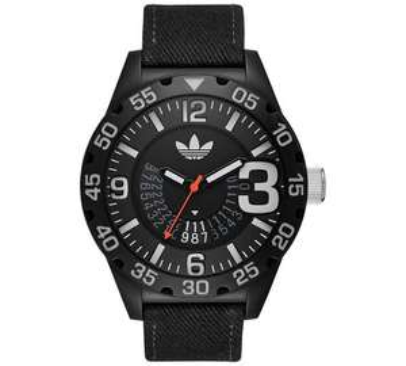 Adidas Originals Men's ADH3157 Black Strap Watch £19.99 @ Argos