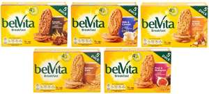 Belvita Breakfast Biscuits - 5 x 45g - 5 flavours Reduced to 99p each @ Tesco