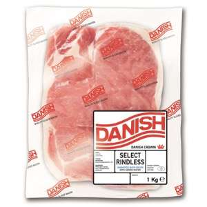 Iceland 7 Day Deal - Danish Unsmoked Back Bacon 1Kg - £3