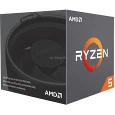 AMD Ryzen 5 2600X 6-core 12-thread CPU including Wraith Spire Cooler £174.90 @ Alternate