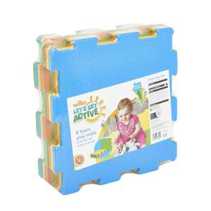 Pack of 8 Wilko EVA Safety Playmats (30cm by 30cm each mat) now £4 C+C from Store / Instore @ Wilko