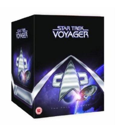 Star Trek Voyager complete collection [DVD] £19.99 prime / £22.98 non prime @ Amazon