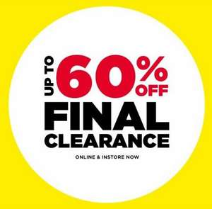 JD SPORTS Final Clearance sale - up to 60% OFF online & instore