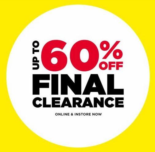 final clearance deals