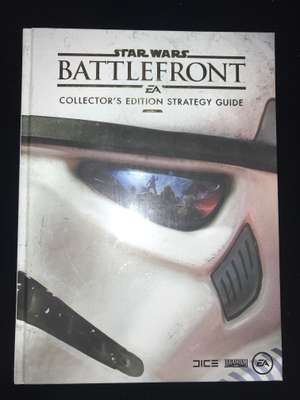 STAR WARS BATTLEFRONT Collector's Edition Strategy Guide £1 @ Poundland
