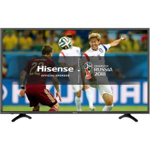 "Hisense H55N5500 55"" Smart 4K Ultra HD Certified TV with HDR and Freeview Play £369.00 with Code (PAYPAL30) @ AO"