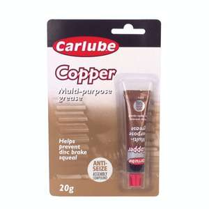 Carlube Copper Grease 20g £1.48 Great price for copper grease £1.48 + Free delivery. PayPal. Possible 3% tcb :) @ Carparts4less