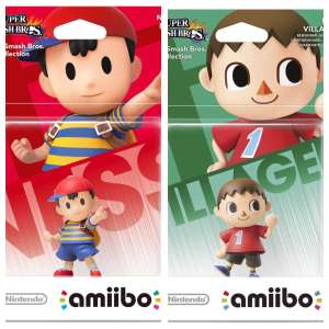 Nintendo amiibo Super Smash Bros. Ness & Villager reduced to £3.99 @ Argos