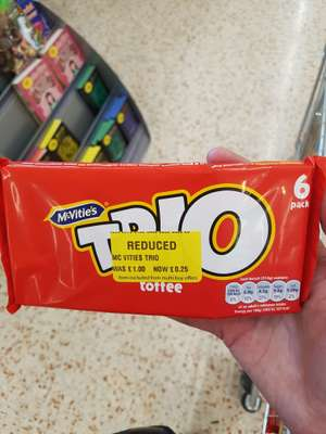 TRIO 6 pack @ morrisons reduced to 25p